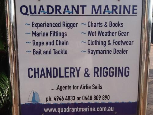Quadrant Marine Chandlery  Rigging Services