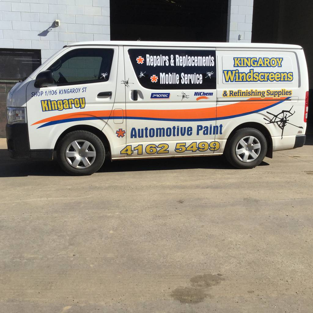 Kingaroy Windscreens  Refinishing Supplies