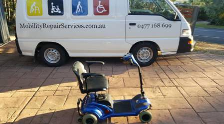 Mobility Repair Services - Scooters & Wheelchairs