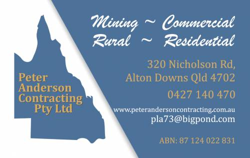 Anderson Peter Contracting Pty Ltd