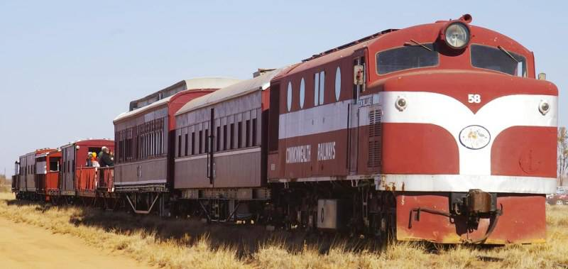 Old Ghan Train Museum