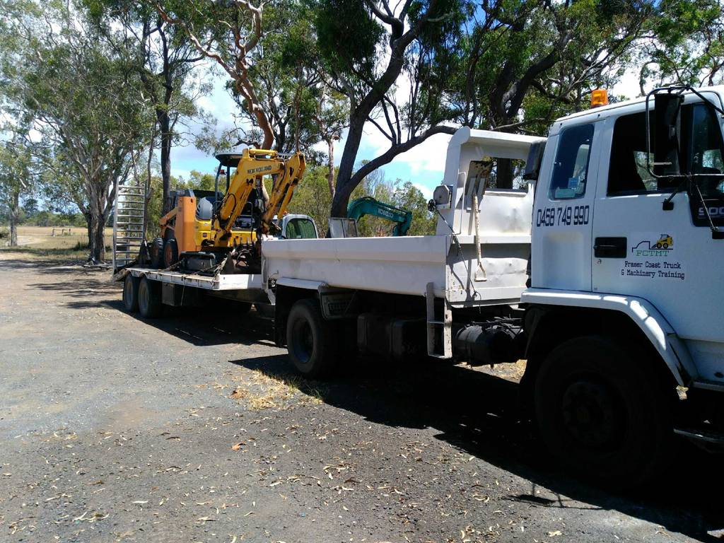 Fraser Coast Truck  Machinery Training