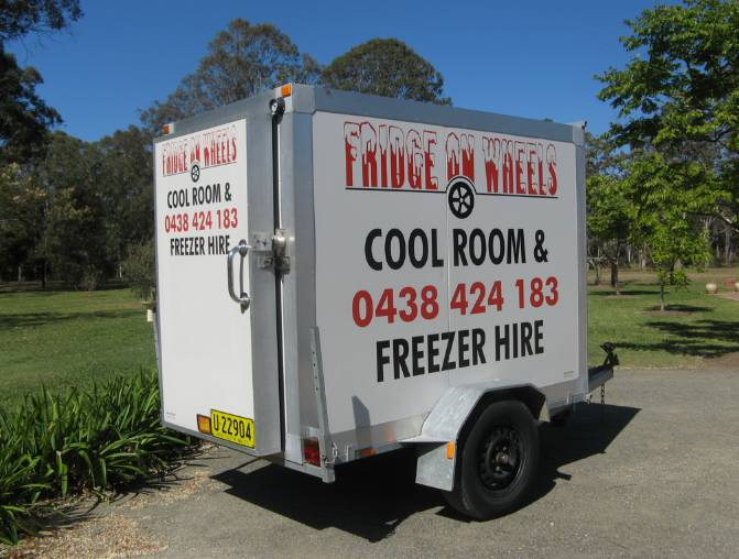 Fridge On Wheels
