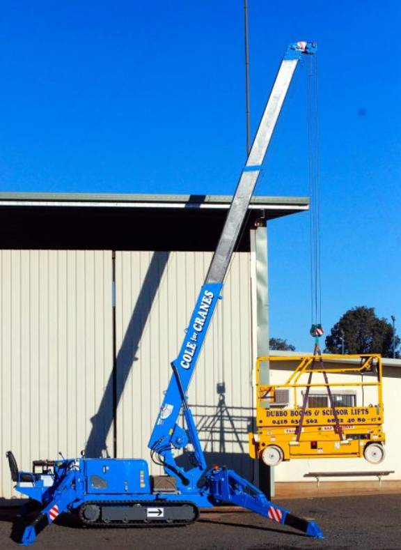 Dubbo Booms  Scissor Lifts
